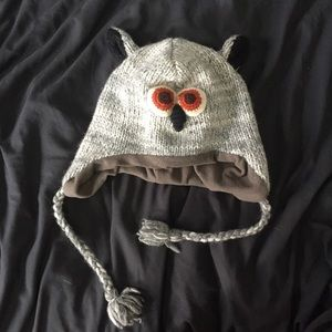 Cute Lil Owl Hat - super warm!